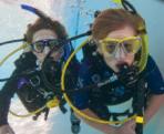 Adoro respirar debaixo de água