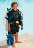 Descubra o mundo subaquático com o Open Water Diver Junior