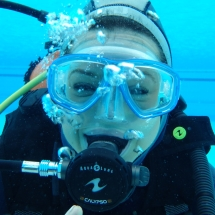 Learn scuba diving, take a diving course