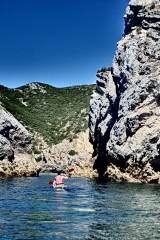 Enjoy kayaking along Arrabida Nature Park