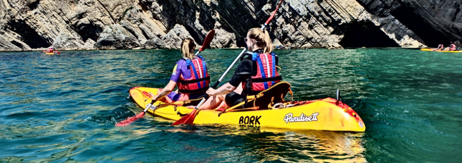 Let´s kayak in Sesimbra and have fun!