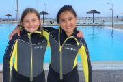 Take your child to a open water diver junior course by PADI