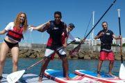 Découvrez le stand up paddle près de Lisbonne!